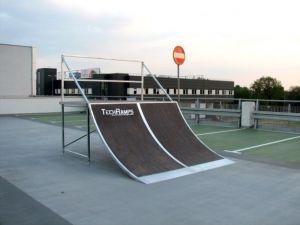 Mobilny skatepark do wypożyczania 4