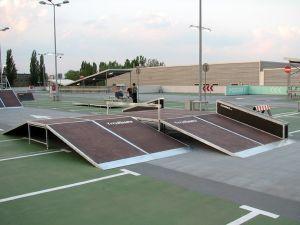 Mobilny skatepark Techramps 1