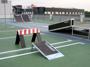 Mobilny skatepark Techramps 2