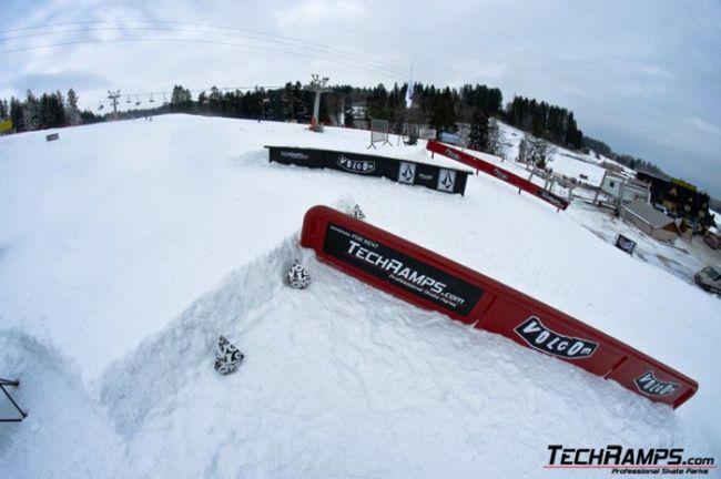Mobilny snowpark Białka Tatrzańska
