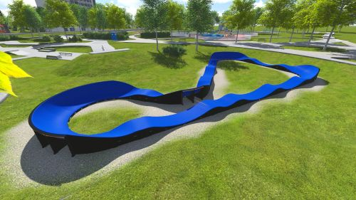 Modular Pumptrack PC3