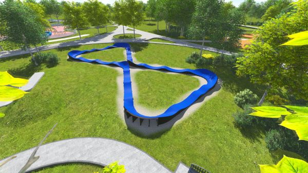 Modular Pumptrack PC4