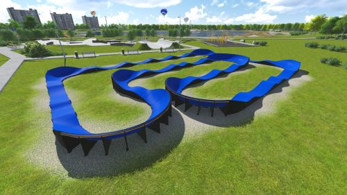 Modular Pumptrack PC7