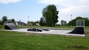 Modular Skatepark in  Biały Bór