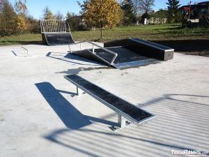 Modular skatepark obstacles in Prestige technology Prestige