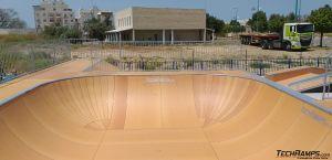 Modułowy bowl - Ramla skatepark