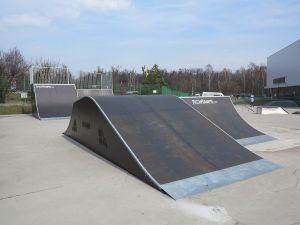 Modułowy funbox - Tarnowskie Góry skatepark