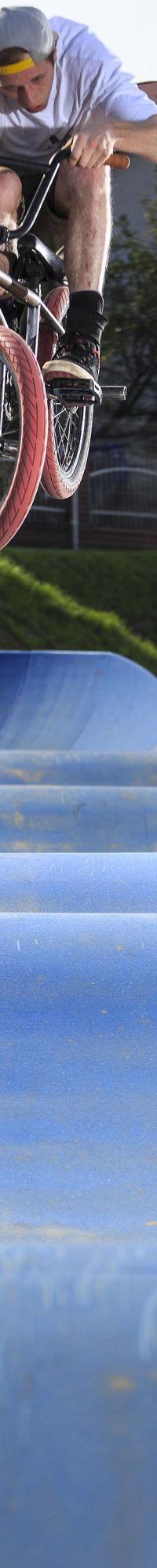 Modułowy Pumptrack - rider: Dawid Dobija