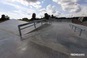 Monolithischer Skatepark von Bobowa