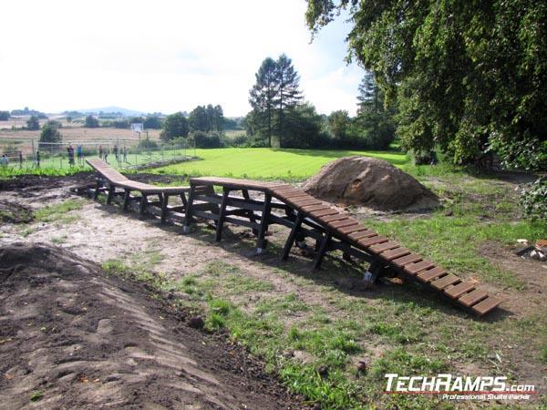 Велосипедски парк во Nagorzyce