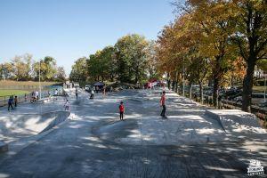 Nakło nad Notecią - monolith concrete skatepark