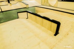New indoor skatepark in Warsaw