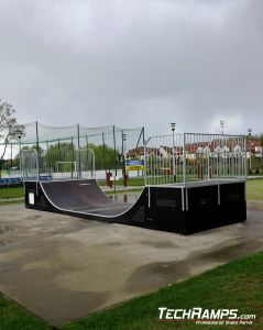 New mini ramp in Mierzyn