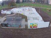 New Obstacles in Cracow Skatepark.