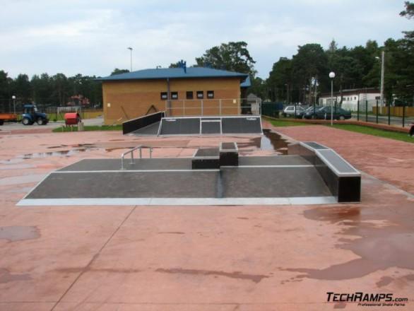Скејтпарк во Niechorze