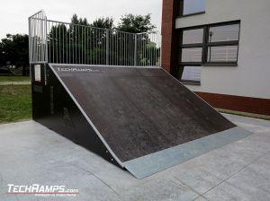 Nowo wybudowany skatepark w Rychtalu