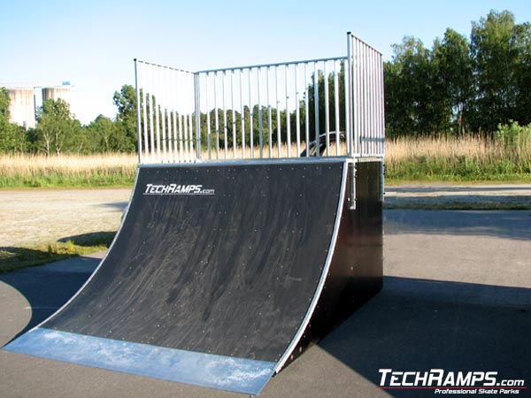 Скејтпарк во Карлсхамн - Oljehamnsvagen - Шведска