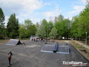 Ostrowiec Świętokrzyski Skatepark panorama