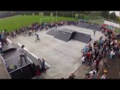 Otwarcie skateparku w Kętach
