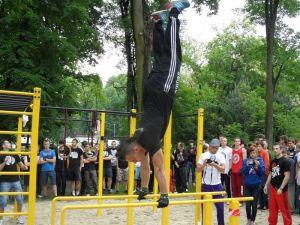 parkour park Lubliniec 5