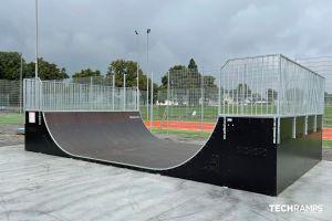Parque de patinaje modular