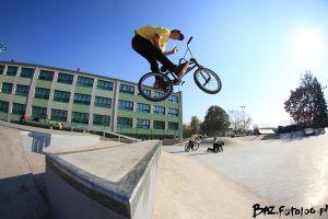 Piotr Leszczyński - Skatepark w Będzinie