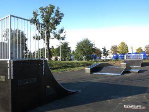 Piotrków Kujawski - skatepark in standard technology