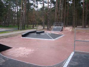 Piramida - Skatepark w Pobierowie