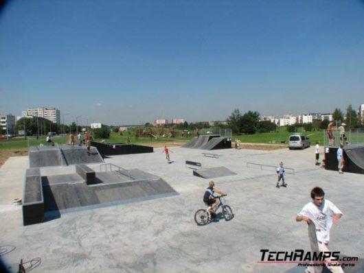 Plan des Skateparks