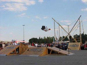 Pokazy na mobilnym Skateparku