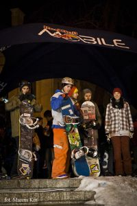 Pokazy Red Bull MOBILE Snowboard Attack