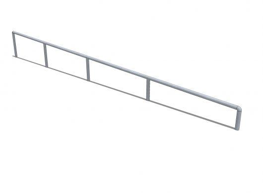 Poręcz spadowa - profil O