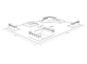 Projekt skateparku w Tychach