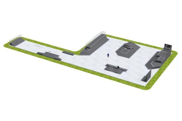Przykładowy skatepark - 060812