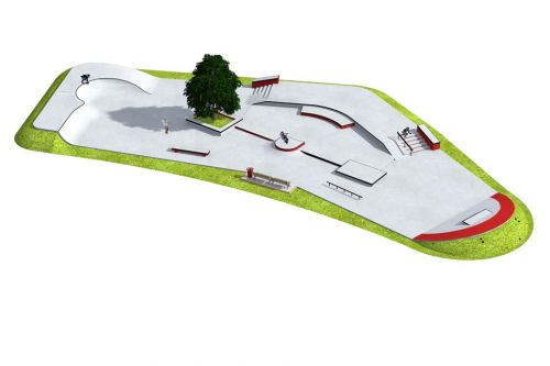 Przykładowy skatepark - 090712