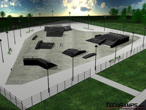 Przykładowy skatepark 19