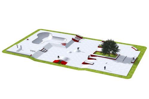 Przykładowy skatepark - 300912
