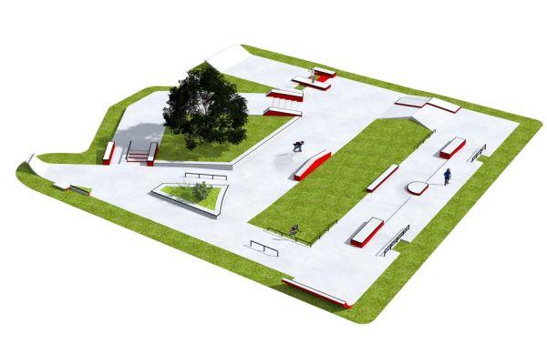 Przykładowy skatepark - 380213