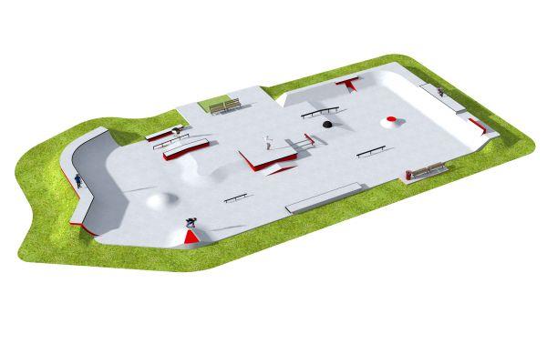 Przykładowy skatepark - 390112