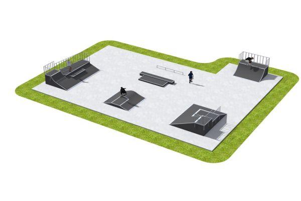Przykładowy skatepark - 520212