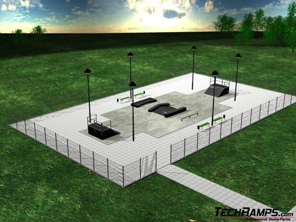 Przykładowy Skatepark 6
