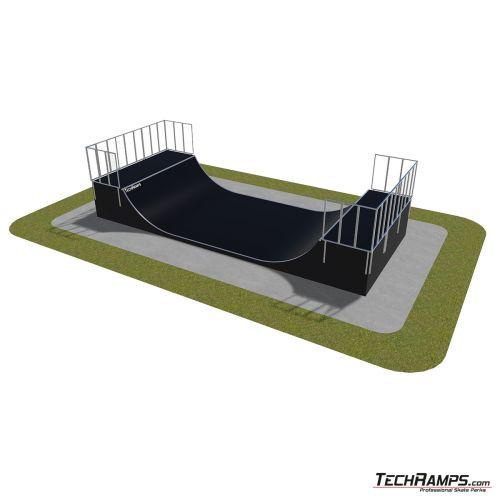 Przykładowy skatepark modułowy nr 470115