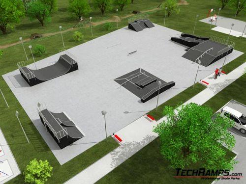 Przykładowy skatepark nr 020108