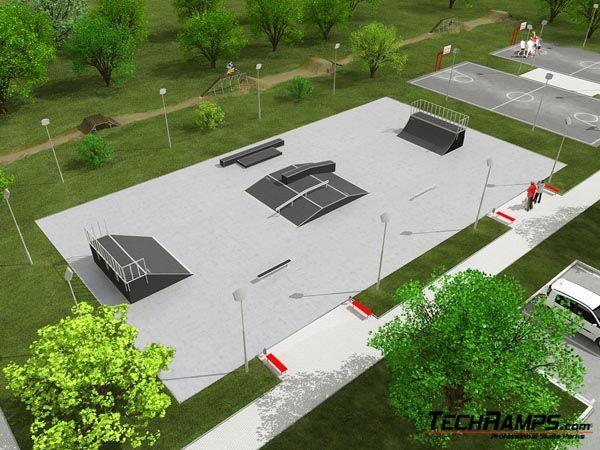 Przykładowy skatepark nr 030509