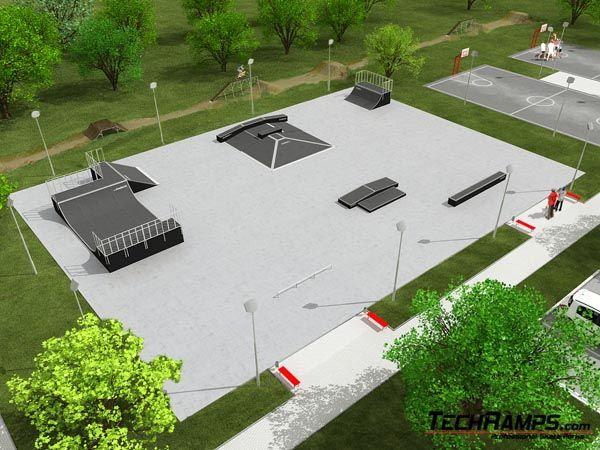 Przykładowy skatepark nr 060309