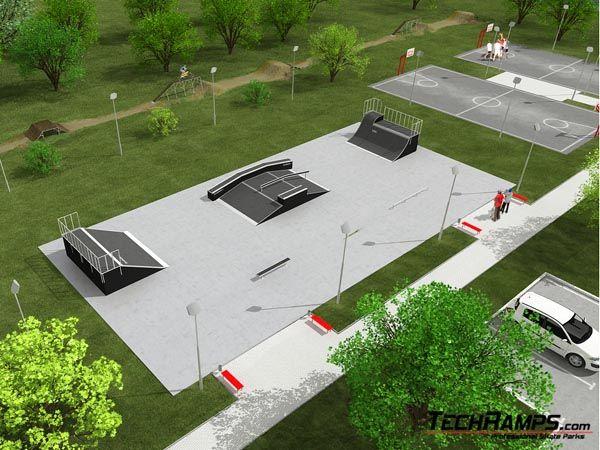 Przykładowy skatepark nr 060708