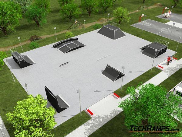 Przykładowy skatepark nr 070308