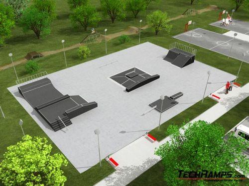 Przykładowy skatepark nr 080808