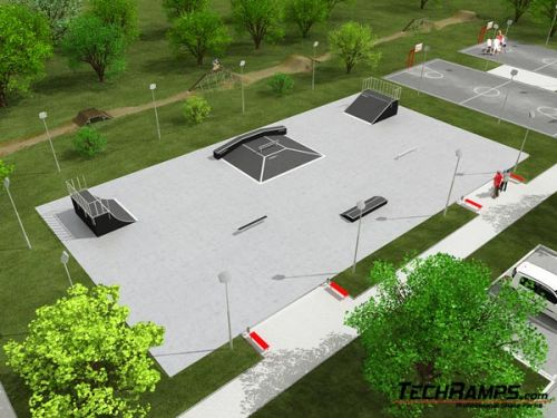 Przykładowy skatepark nr 090509