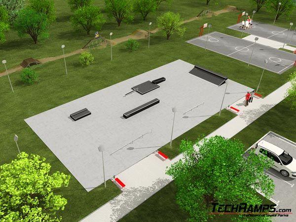 Przykładowy skatepark nr 090908